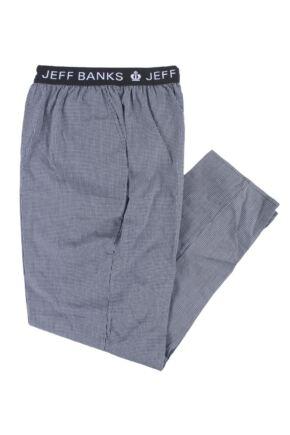 Mens 1 Pair Jeff Banks Full Length Woven Lounge Pants