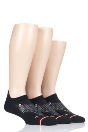 Ladies 3 Pair Stance Train Tab Training Trainer Liner Socks