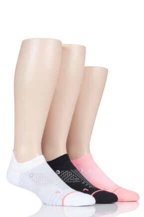 Ladies 3 Pair Stance Train Tab Training Trainer Liner Socks