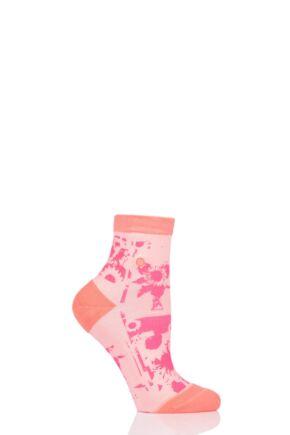 Ladies 1 Pair Stance Sun Fleur Everyday Low Rider Socks