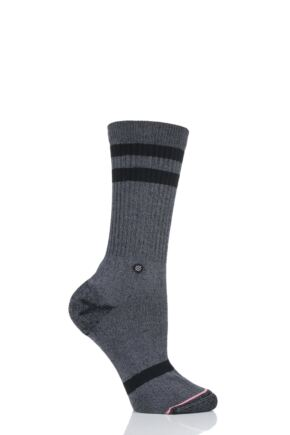 Ladies 1 Pair Stance Classic Uncommon Crew Cotton Socks