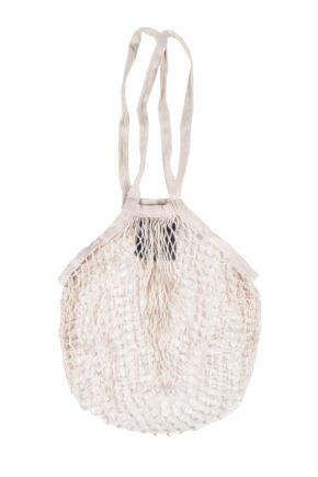 Ladies 1 Pack Thought 100% Organic Cotton String Bag
