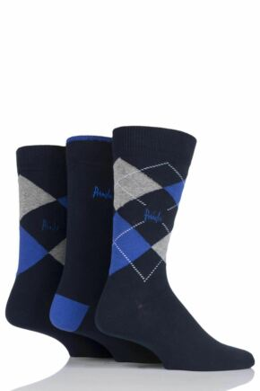 Mens 3 Pair Pringle 12-14 Big Foot Socks for Larger Feet