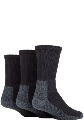 Ladies 3 Pair Workforce Safety Boot Socks