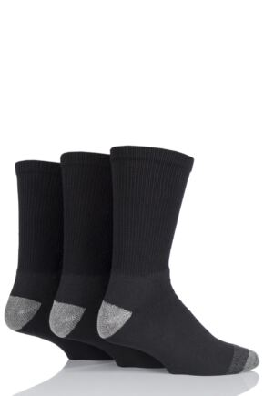 Mens 3 Pair Workforce Work Wear Socks