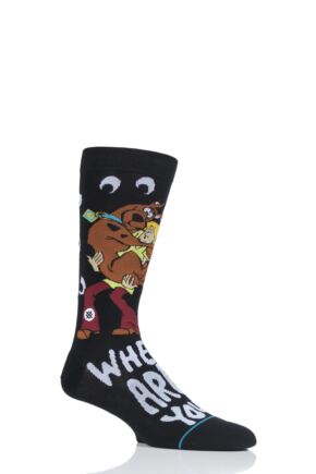 Mens 1 Pair Stance Scooby-Doo Where are you Cotton Socks