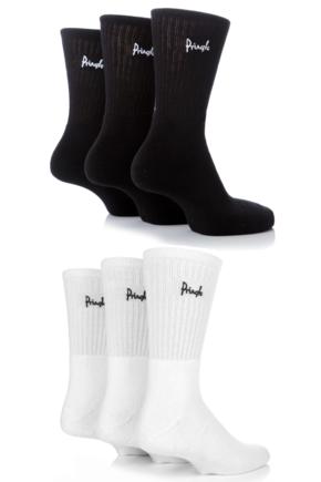Mens 6 Pair Pringle Full Cushion Sports and Trainer Socks
