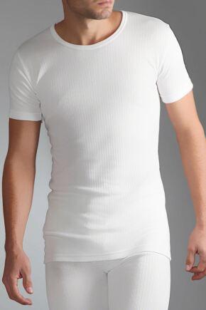 Mens SockShop Heat Holders Short Sleeved Thermal Vest In 2 Colours
