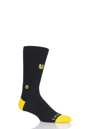 Mens 1 Pair Stance Wu-Tang Clan Cotton Socks
