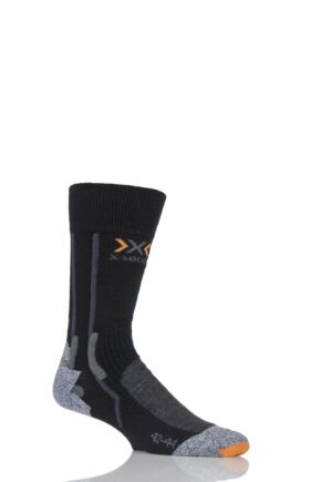 Mens 1 Pair X-Socks Silver Trekking Socks with Sinofit Technology
