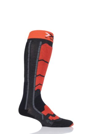Mens and Ladies 1 Pair X-Socks Ski Control 2.0 Skiing Socks