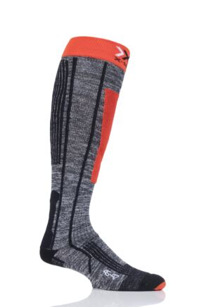 Mens and Ladies 1 Pair X-Socks Ski Rider 2.0 Skiing Socks
