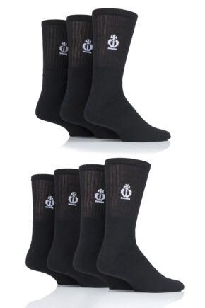 Mens 7 Pair Jeff Banks Cotton Sports Socks