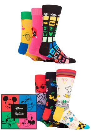 Happy Socks 6 Pair Disney Gift Sets