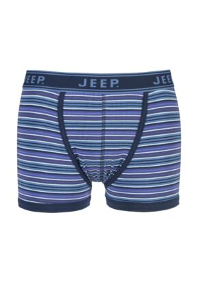 Mens 1 Pair Jeep Spirit Cotton Stripe Trunks