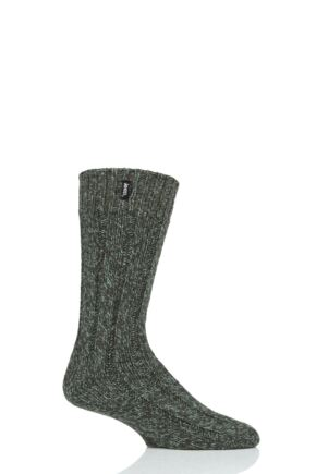 Mens 1 Pair Jeep Hiking Wool Blend Socks