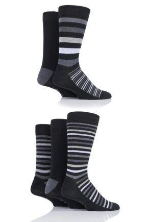 Mens 5 Pair Jeep Patterned Socks