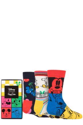 Kids 3 Pair Happy Socks Disney Gift Set