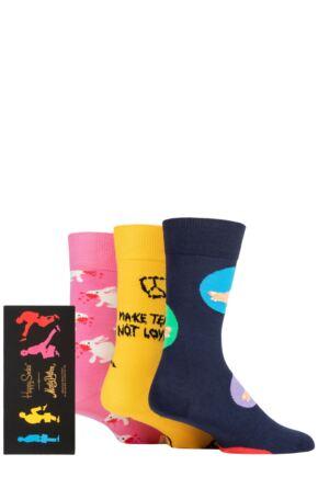 Happy Socks 3 Pair Monty Python Gift Sets