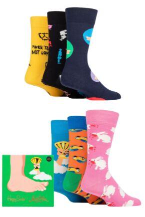 Happy Socks 6 Pair Monty Python Gift Sets
