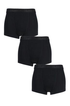 Mens 3 Pack SueMe Tree Trunks Beech Tree Pulp Boxer Shorts