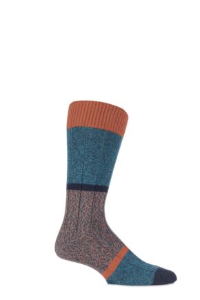 Scott Nichol Urban Collection The Boultham Cotton Block Marl Socks