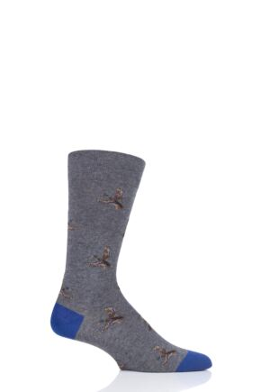 Mens 1 Pair Scott Nichol All Over Ducks Cotton Socks