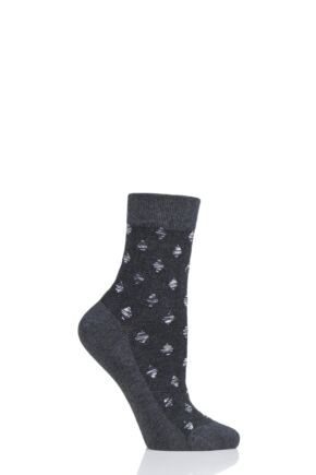 Ladies 1 Pair Tavi Noir Kate Organic Cotton Casual Socks