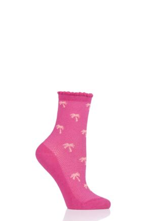 Ladies 1 Pair Tavi Noir Kate Organic Cotton Casual Socks