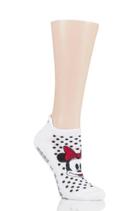 Ladies 1 Pair Tavi Noir Disney Minnie Dots Socks