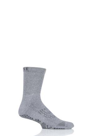 Mens 1 Pair ToeSox Base Crew Socks