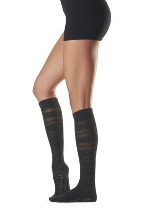 Ladies 1 Pair ToeSox Full Toe Scrunch Organic Cotton Socks
