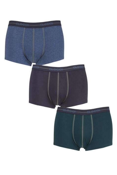 Mens 3 Pack Sloggi Start Hipster Boxer Shorts Product Image