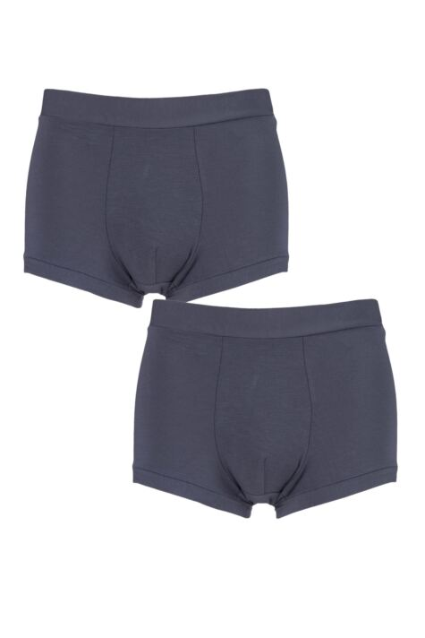 Mens 2 Pack Sloggi GO Allround One Size Fits All Hipster Shorts Product Image