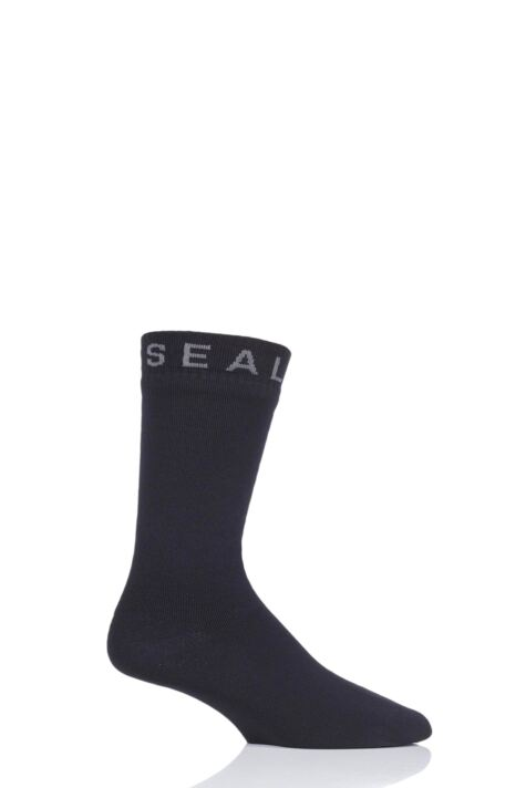 SealSkinz 1 Pair 100% Waterproof Super Thin Mid Socks Product Image