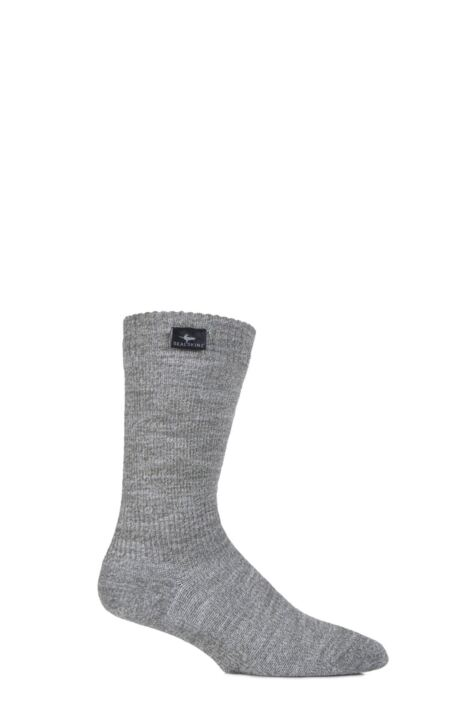 Mens and Ladies 1 Pair SealSkinz 100% Waterproof Mid Weight Hiking Socks Product Image