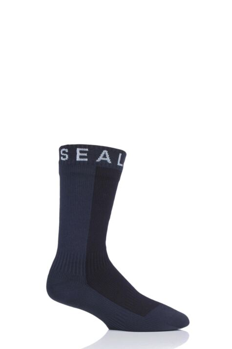 SealSkinz 1 Pair 100% Waterproof Hiking Mid Thick Mid Length Socks Product Image