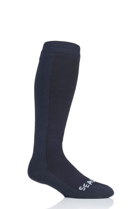 3e3d53f4935 SealSkinz 1 Pair 100% Waterproof Hiking Mid Knee Length Socks