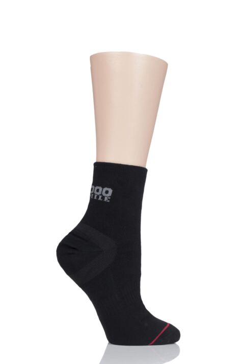 Mens and Ladies 1 Pair 1000 Mile Ultimate Tactel Anklet Socks Product Image