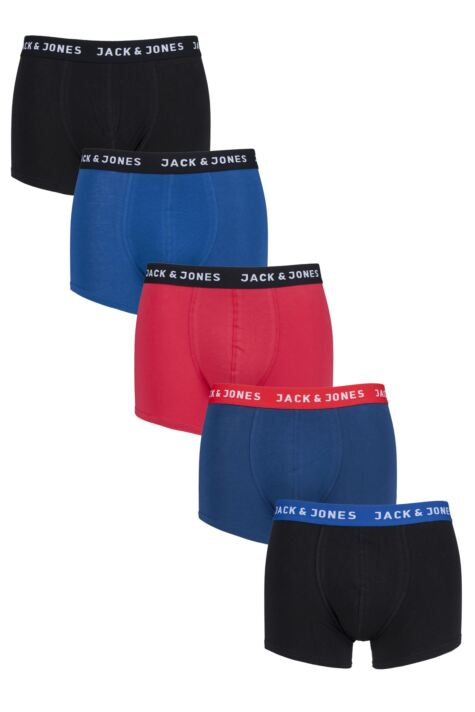 Mens 5 Pack Jack & Jones Jacnew Trunks Product Image