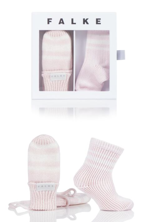 Babies Falke Socks and Mittens Gift Box Product Image