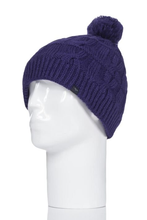 SealSkinz 1 Pack 100% Waterproof Cable Knit Bobble Hat Product Image