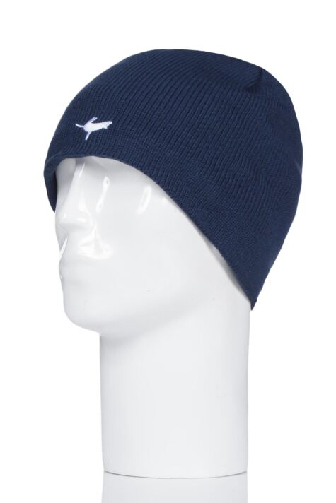 SealSkinz 1 Pack 100% Waterproof Beanie Hat Navy Product Image