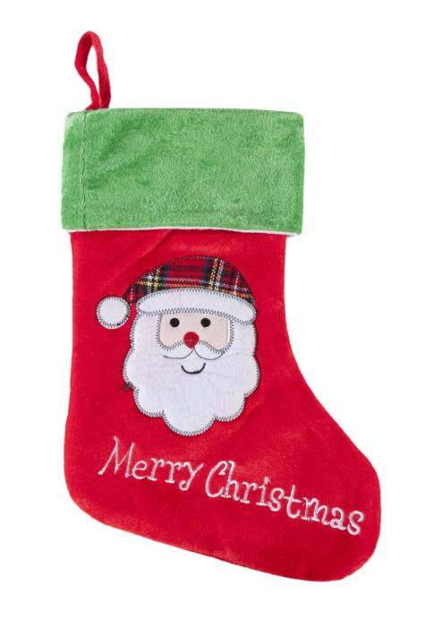 SockShop Santa Merry Christmas Christmas Stocking Product Image