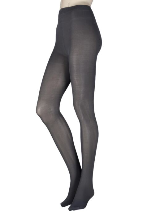Ladies 1 Pair SockShop Anti-Cellulite 40 Denier Opaque Tights Product Image