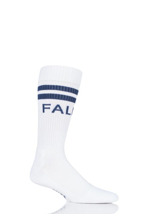 Mens and Ladies 1 Pair Falke Retro Cotton Sports Socks Product Image