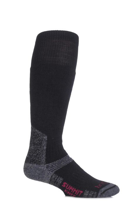 Mens and Ladies 1 Pair Bridgedale Endurance Summit Knee High Socks For Winter Expeditions Product Image