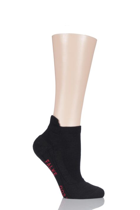 Ladies 1 Pair Falke Medium Volume Ergonomic Cushioned Golf Sneaker Socks Product Image