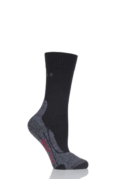 Ladies 1 Pair Falke Trekking Sensitive Medium Cushioned Socks Product Image