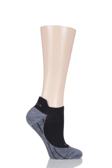 Ladies 1 Pair Falke Light Volume Ergonomic Cushioned Invisible Running Socks Product Image